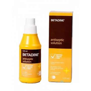 Betadin antiseptic solution