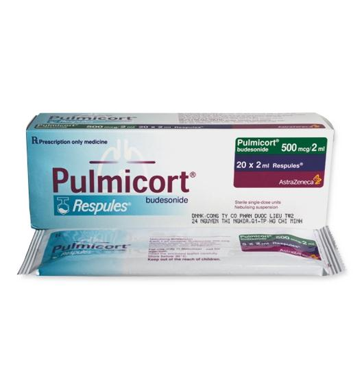 Pulmicort 500mg/2ml