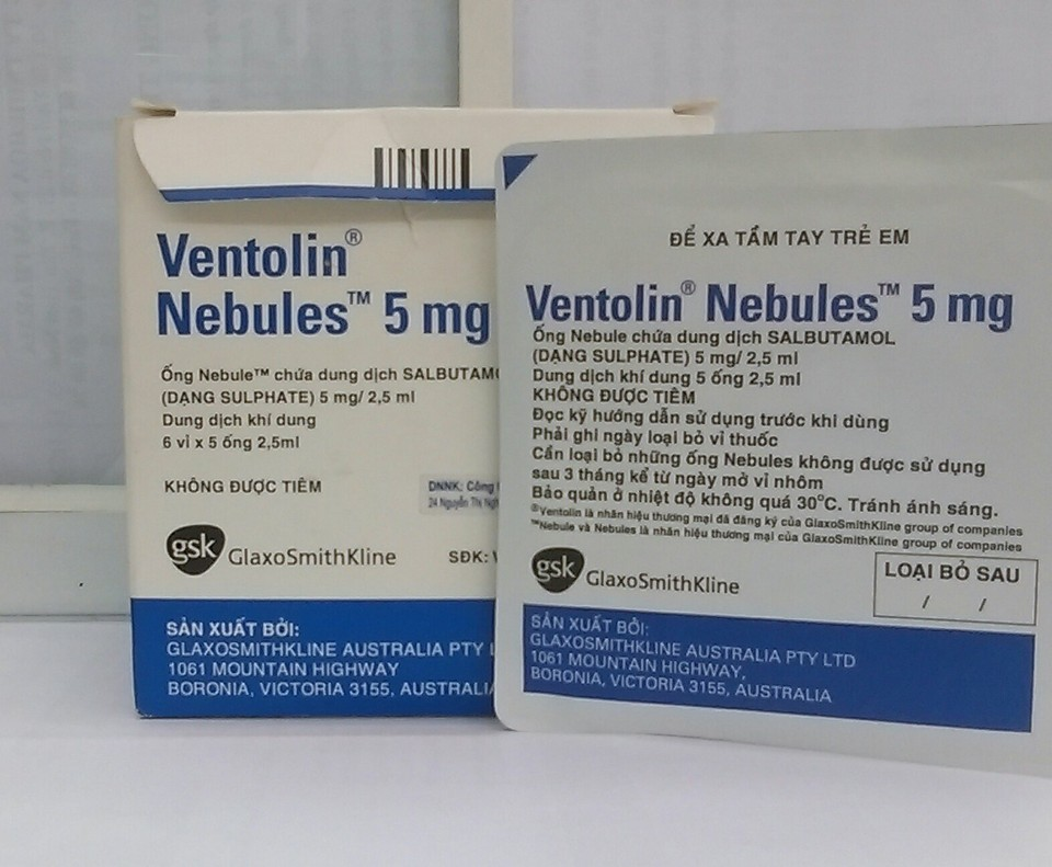 Ventolin 5mg